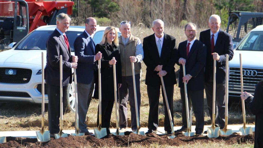 Ritchey Automotive Groundbreaking